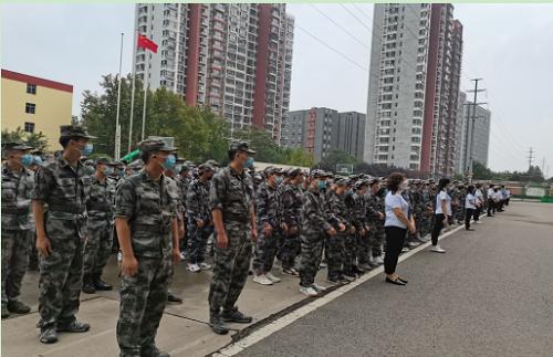 石家庄铁路职业技工学校开学用军训吗